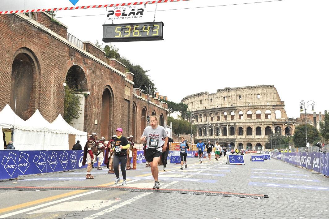 Patrick Novecosky in Rome